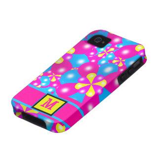 Chic-Ballon-Blüten Iphone 4/4S Case-Mate-Fall iPhone 4 Cover