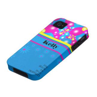 Chic-Ballon-Blüten Iphone 4/4S Case-Mate-Fall iPhone 4 Hülle