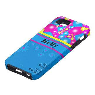 Chic-Ballon-Blüten Iphone 5 Case-Mate-Fall iPhone 5 Case
