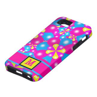Chic-Ballon-Blüten Iphone 5 Case-Mate-Fall iPhone 5 Etuis