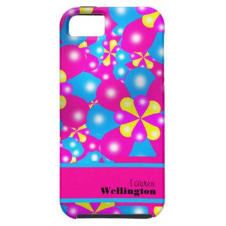 Chic-Ballon-Blüten Iphone 5 Case-Mate-Fall iPhone 5 Hülle