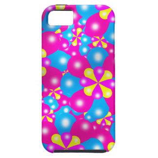 Chic-Ballon-Blüten Iphone 5 Case-Mate-Fall iPhone 5 Schutzhüllen