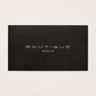 Chic-Butike Imitat Leinen Professionelle Visitenkarten