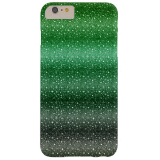 Chic-grünes Glitzer iPhone 6/6s plus Fall Barely There iPhone 6 Plus Hülle
