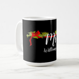 CHIC-HERR CHRISTMAS MUG WITH NAME KAFFEETASSE