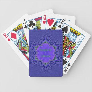 Chic-lila Lavendel-'Einfachheit Lifestyle Bicycle Spielkarten