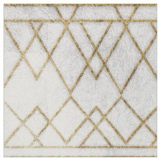 Chic-modernes Imitat-Goldgeometrische Dreiecke Stoff