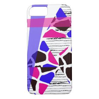 Chic-Muster mit Hand gezeichneten Streifen iPhone 8/7 Hülle