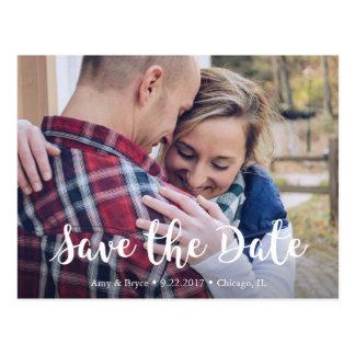 Chic-Save the Date Postkarte