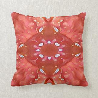 Chic-Schatten von rosa Pfirsich-künstlerischem Kissen