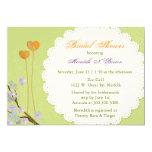 Chic, Trendy Sommer-Brautparty des Frühlings-| 12,7 X 17,8 Cm Einladungskarte