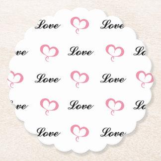 CHIC-UNTERSETZER SET_HEARTS U. LOVE_PIN UNTERSETZER