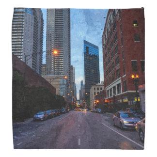 Chicago-Abends-Antrieb Halstuch