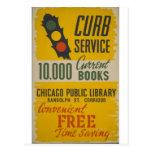 Chicago-Bibliotheks-Beschränkungs-Service-Plakat Postkarten