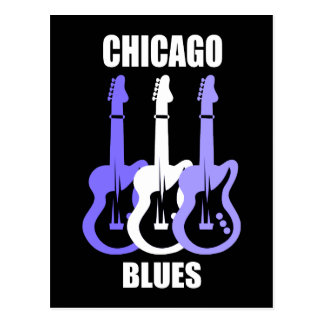 Chicago-Blues Postkarten
