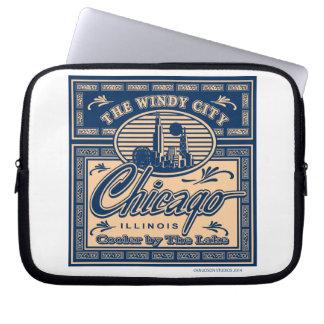 Chicago cooler durch den See Laptop Sleeve