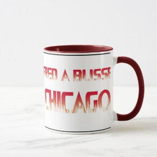 Chicago-Feuer-Boot Tasse