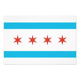Chicago-Flagge Fotodruck