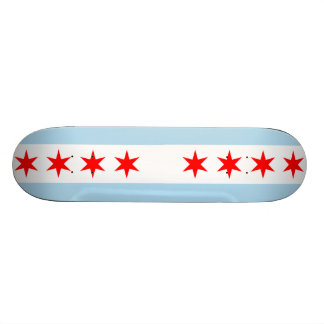 Chicago-Flagge Individuelle Skateboards