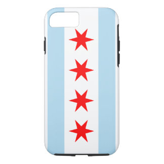 Chicago-Flagge - Iphone 7 Fall (starker Fall)
