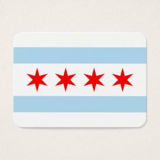 Chicago-Flagge Jumbo-Visitenkarten