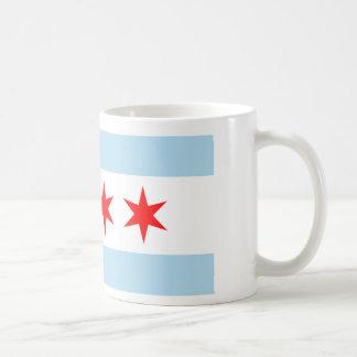 Chicago-Flagge Kaffeetasse