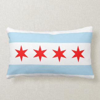 Chicago-Flagge Lendenkissen