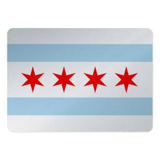 Chicago-Flagge Visitenkarte
