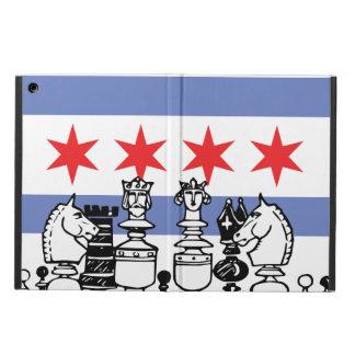 Chicago-Flaggen-Schach