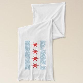 Chicago-Flaggen-Vintages kariertes Schal