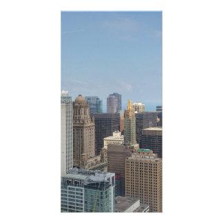 Chicago Foto Karten Vorlage