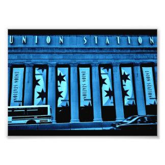 Chicago-Gewerkschafts-Station Fotodruck