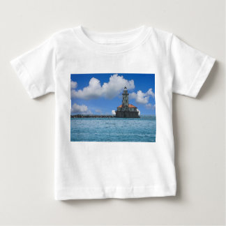 Chicago-Hafen-Leuchtturm Painterly Baby T-shirt