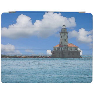 Chicago-Hafen-Leuchtturm Painterly iPad Smart Cover