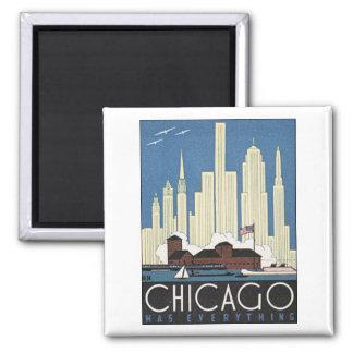 Chicago hat alles quadratischer magnet