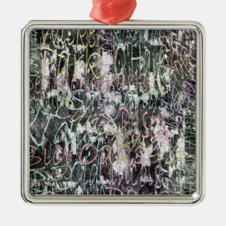Chicago-Hauben Silbernes Ornament