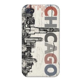 Chicago-Nachbarschaften iPhone 4/4S Cover