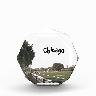 Chicago-Parksepia-Töne Acryl Auszeichnung