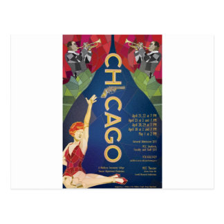 Chicago Postkarte