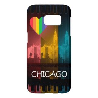 Chicago-Regenbogen-Telefon-Abdeckungs-Gay Pride