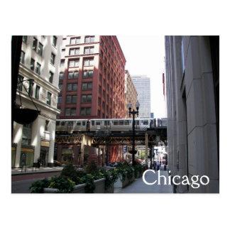 Chicago-Reise Postkarte