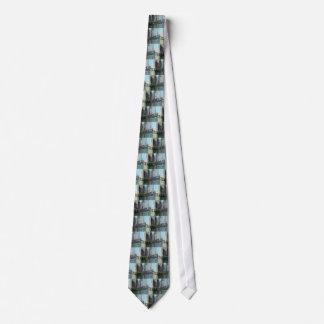 Chicago River nach Westen gerichtete Ansicht Individuelle Krawatten