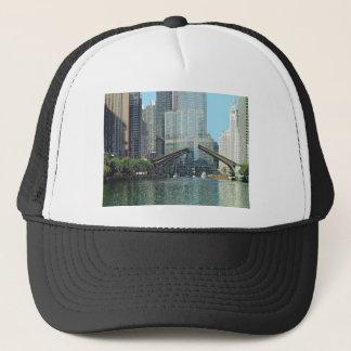 Chicago River nach Westen gerichtete Ansicht Truckerkappe