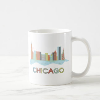Chicago-Skyline Kaffeetasse