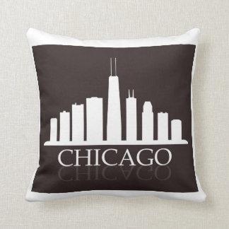 Chicago-Skyline Kissen