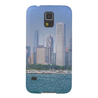 Chicago-Skyline Samsung S5 Hüllen
