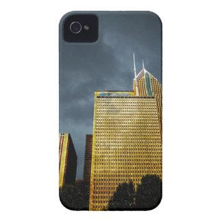 Chicago-Skyline vor einem Sturm Case-Mate iPhone 4 Hüllen