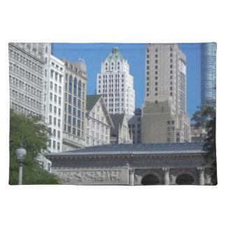 Chicago-Stadtbild Tischset