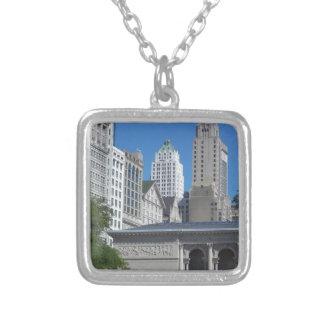 Chicago-Stadtbild Versilberte Kette