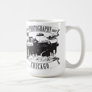 Chicago-Straßen-Fotografie-Gruppen-klassische Kaffeetasse